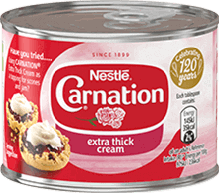 Carnation Extra Thick Cream 170g can