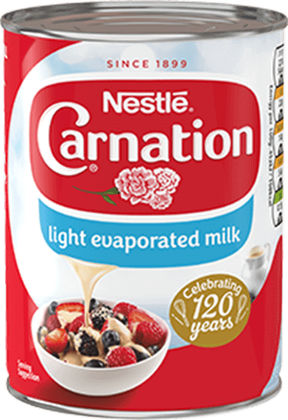 Carnation Light Evaporated Milk 410g can