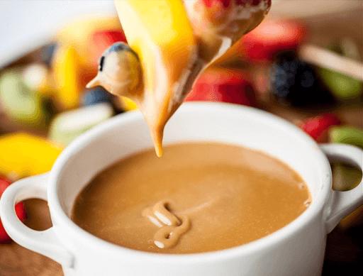 Hot Caramel Fondue
