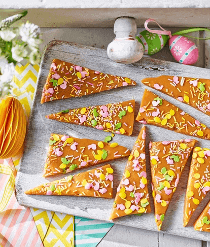 Easter Butter Toffee