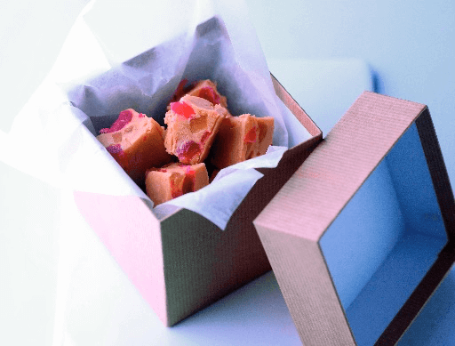 Ginger and Cherry Fudge