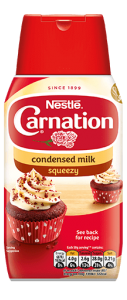 Carnation Condensed Milk (squeezy 450g)