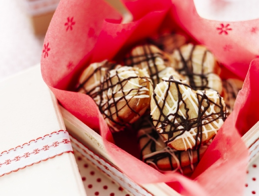 Loveheart Millionaires Shortbread Biscuits
