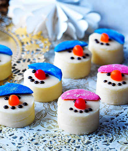 Snowman White Chocolate Fudge