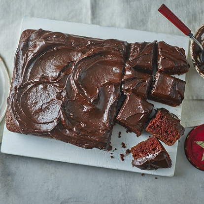 Chocolate Fudge Tray bake