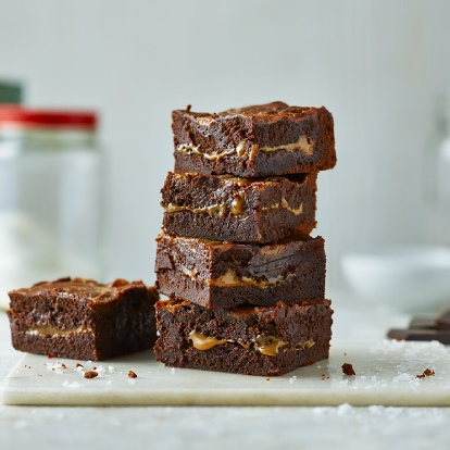 Salted Caramel Brownie Recipe Carnation