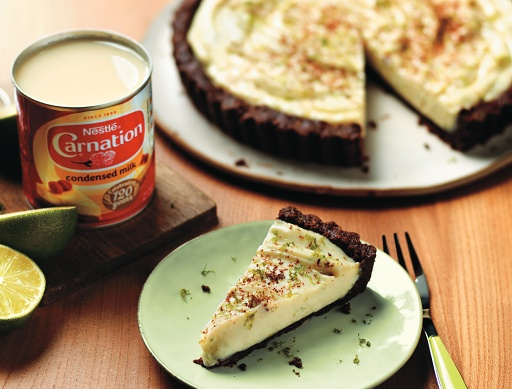 Chocolate Key Lime Pie