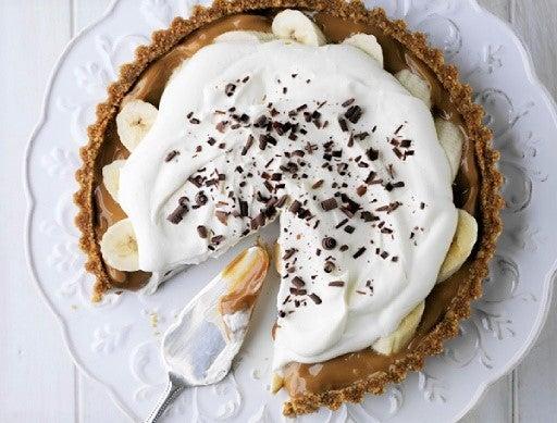 Salted Caramel Banoffee Pie