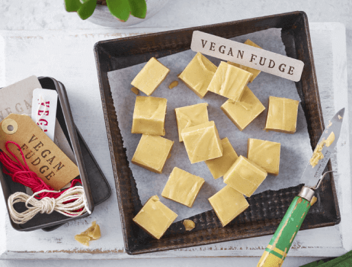 Vegan Vanilla Fudge