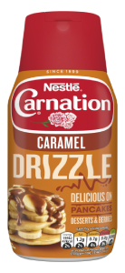 carnation caramel drizzle sauce 450g bottle