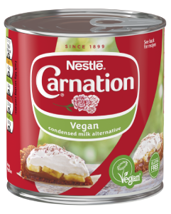 carnation vegan condensed milk alternative can