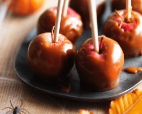 Chewy Toffee Apples